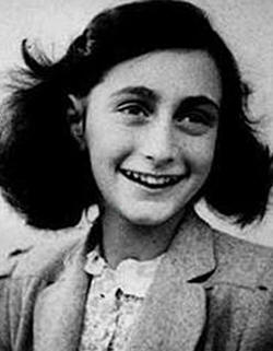 Anne Frank Pictured in May, 1942. Picture source: Wikipedia