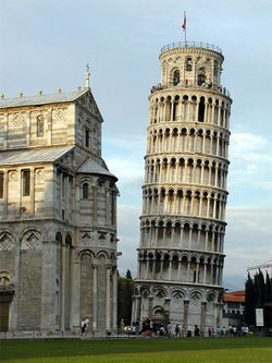 LEANING TOWER OF PISA - TUSCANY, ITALY