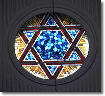 Stained Glass Window, Ashkenazi Synagogue, Istanbul