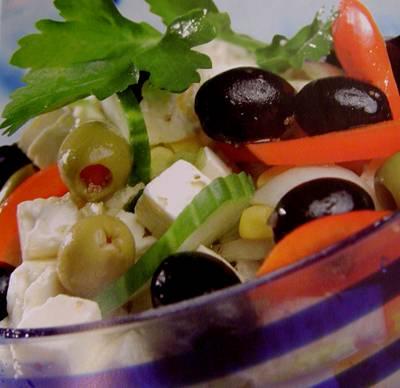 3 foods cold soup greek-salad